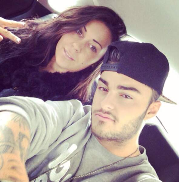 Le selfie de couple avec Shanna et Thibaut (Les Marseillais... de W9)