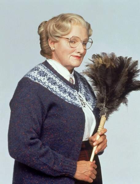 Madame Doubtfire, la reine du plumeau ?