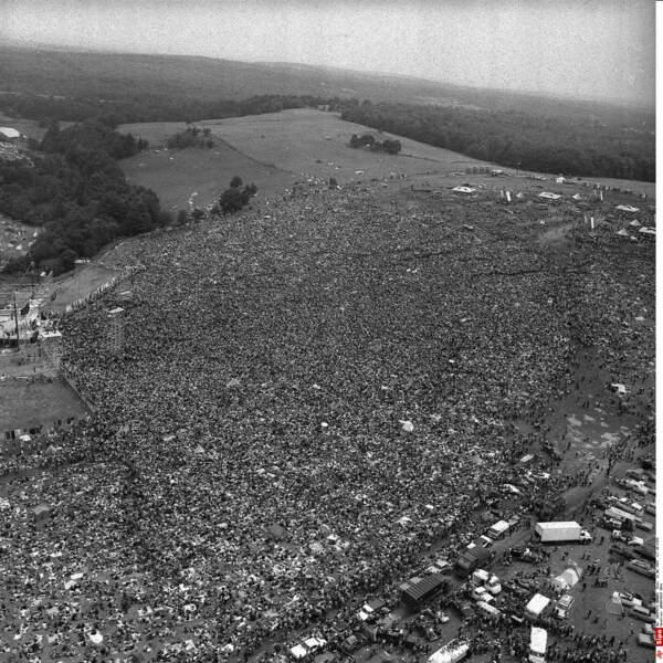 ... et qui accueillit 500 000 personnes au lieu de 50 000 à Bethel.