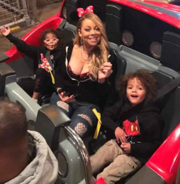 Aucune des photos de Mariah Carey ne fait dans la demi-mesure