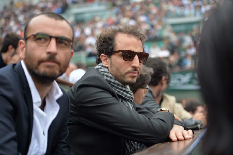 On a retrouvé Arie Elmaleh après sa disparition du Grand Journal. Il était à Roland Garros.