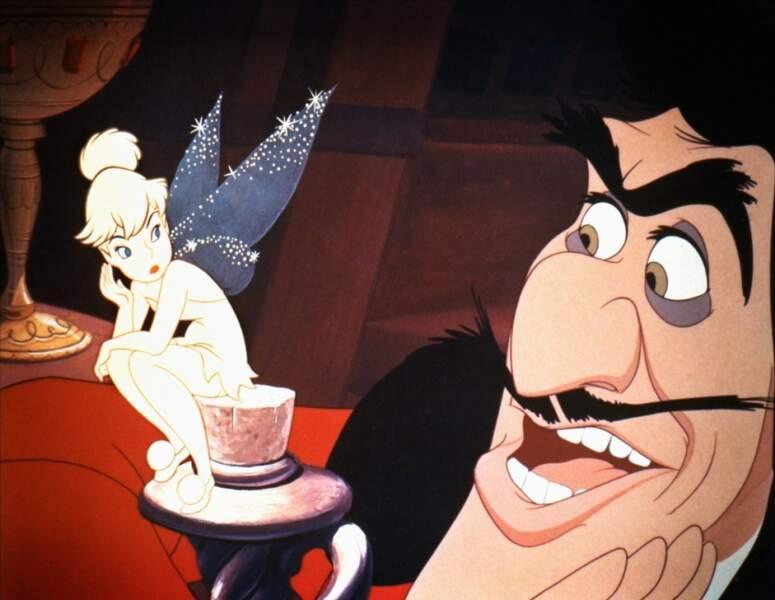 Clochette (Peter Pan) : Elle est jolie, boudeuse, jalouse et espiègle... la fée parfaite !