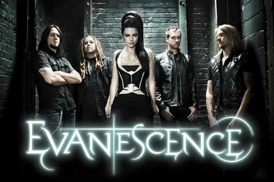 58. Evanescence (chanteurs)
