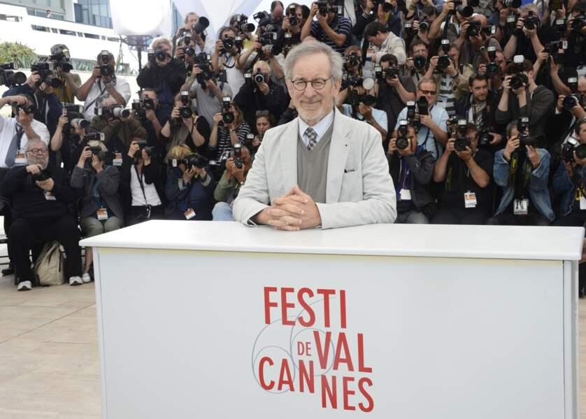 Monsieur le Président du jury, j'ai nommé : Steven Spielberg !