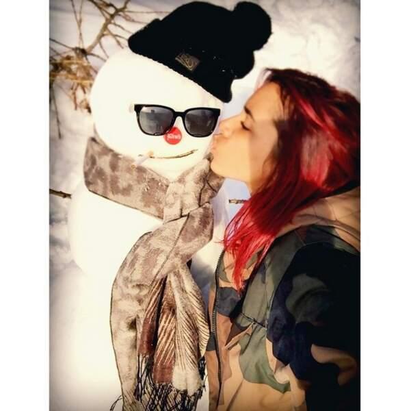 ... d'un bonhomme de neige !