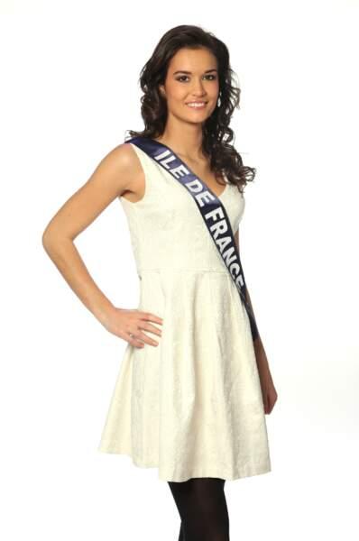 Laetitia Vuillemard, Miss Ile-de-France 2013