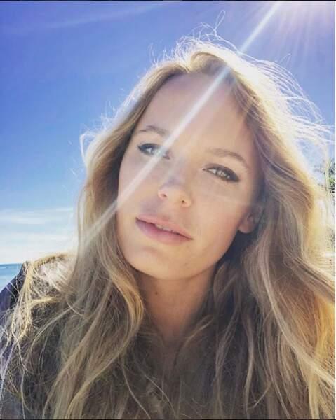 Le selfie, la passion de ces dames pour se montrer sous leur meilleur profil, n'est-ce-pas Caroline Wozniacki ?