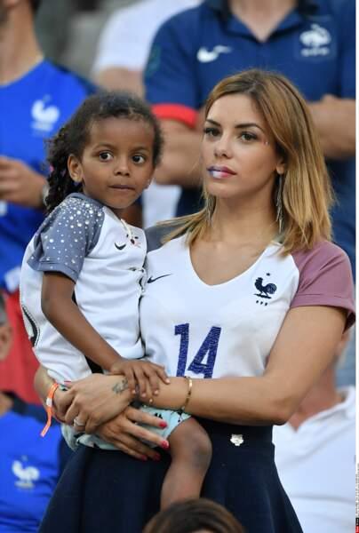 Isabelle Matuidi n'exprime pas son soutien aux Bleus du bout des lèvres !