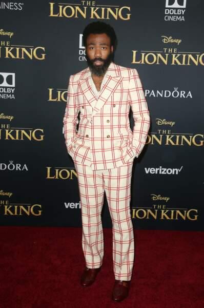 Donald Glover alias la voix de Simba dans le film