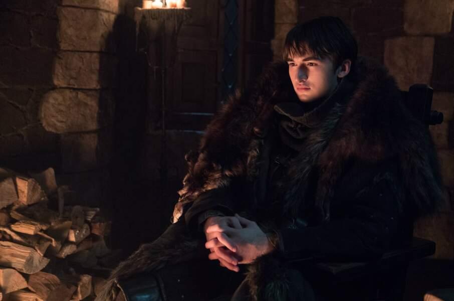 Mystérieux, Bran Stark doit gérer le poids de ses visions