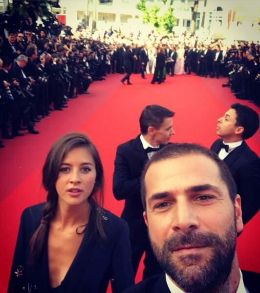Dans le film Hostile, l'acteur partage l'affiche avec Brittany Ashworth et monte les marches de Cannes !