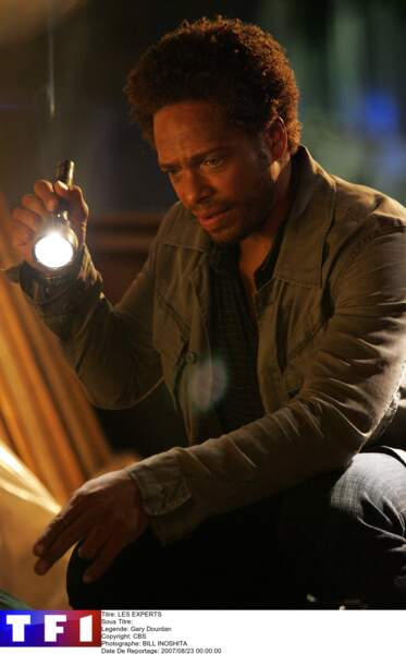 Gary Dourdan, alias Warrick Brown