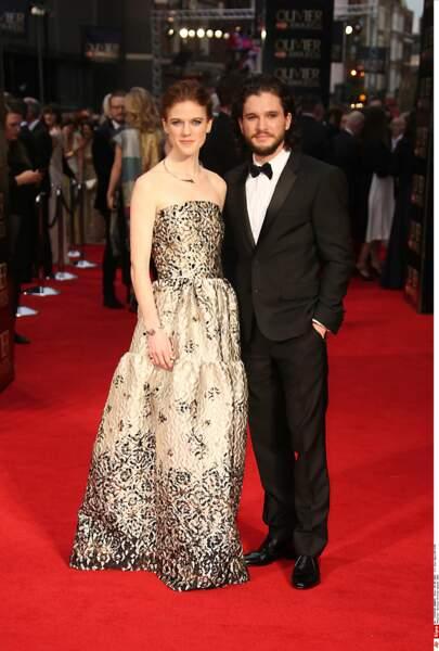 """Rosie Leslie et Kit Harington, acteurs de la série """"Game of Thrones"""", se marient le 23 juin"""