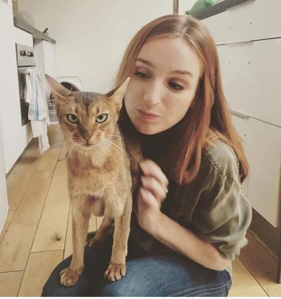 Cette semaine, les animaux sont rois sur Insta. Alison Wheeler est trop fière de son chat. De sa chatte?