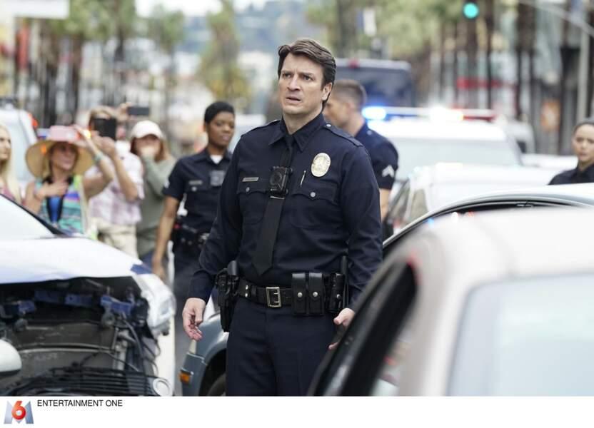 Son personnage, John Nolan, fait ses premiers pas dans la police de Los Angeles