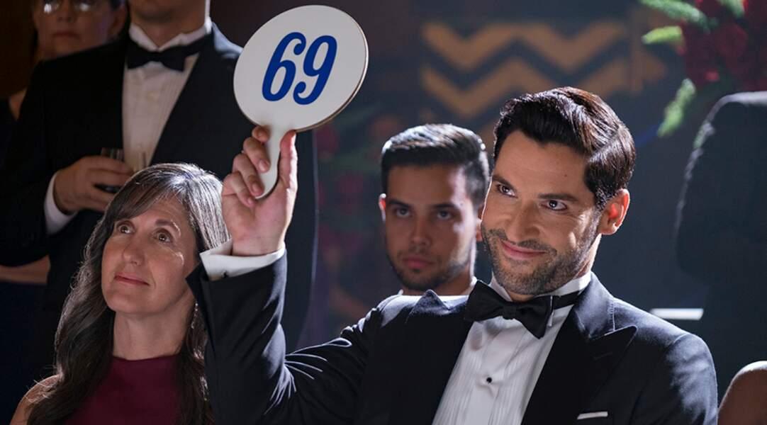 Connaissant Lucifer, il ne pouvait pas avoir d'autre numéro sur sa pancarte…