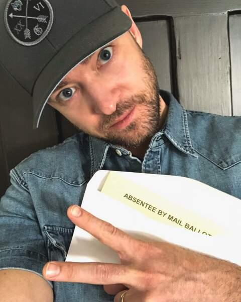 Justin Timberlake, né le 31 janvier 1981