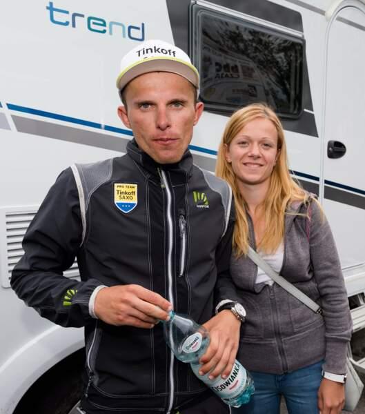 Magda Kowal, toujours là pour soutenir Rafal Majka