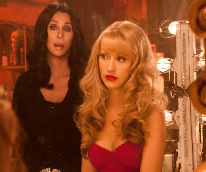 Cher et Christina Aguilera (Burlesque)