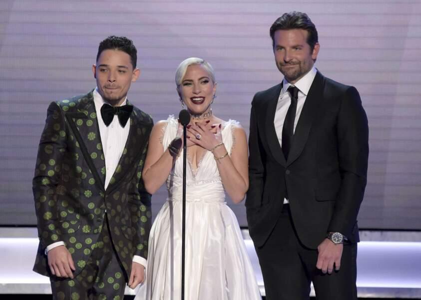 Lady Gaga et Bradley Cooper sont de nouveau repartis bredouilles pour A Star is Born mais gardent le sourire