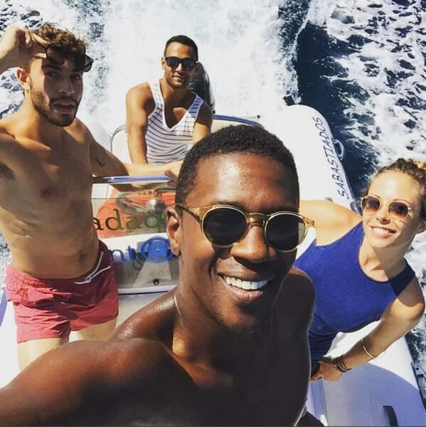 Selfie bateau