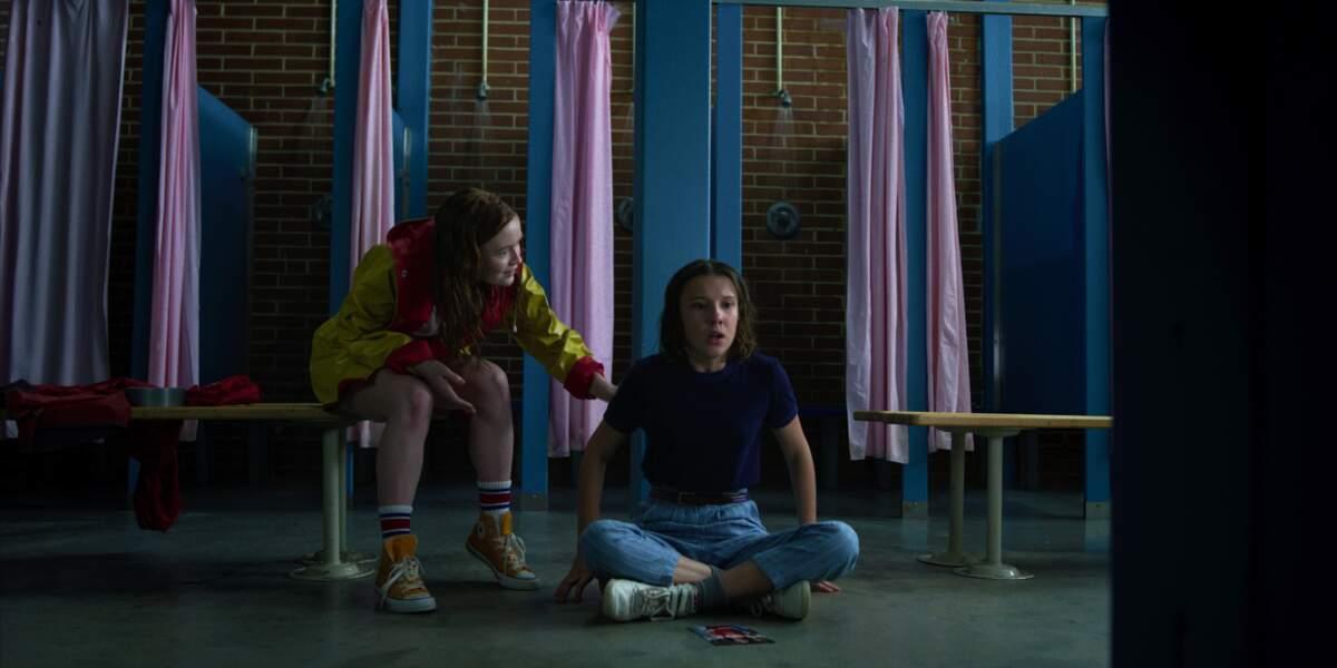 Eleven est bouleversée par les visions qu'elle vient d'avoir