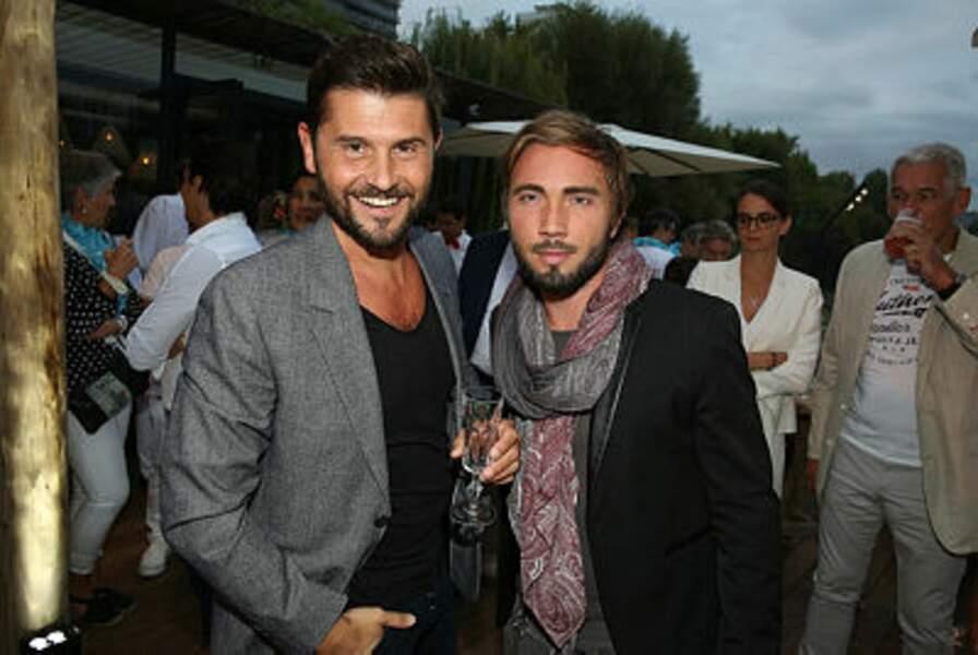 Christophe Beaugrand et son mari Ghislain