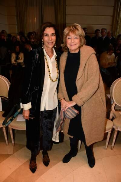 Christine Orban et Danièle Thompson ont posé ensemble en marge du défilé Weill