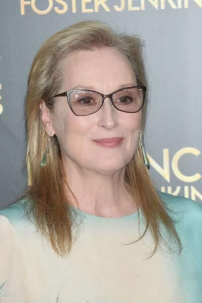 """Entre """"Mary"""" et """"Louise"""", Meryl Streep a décidé de tout contracter."""