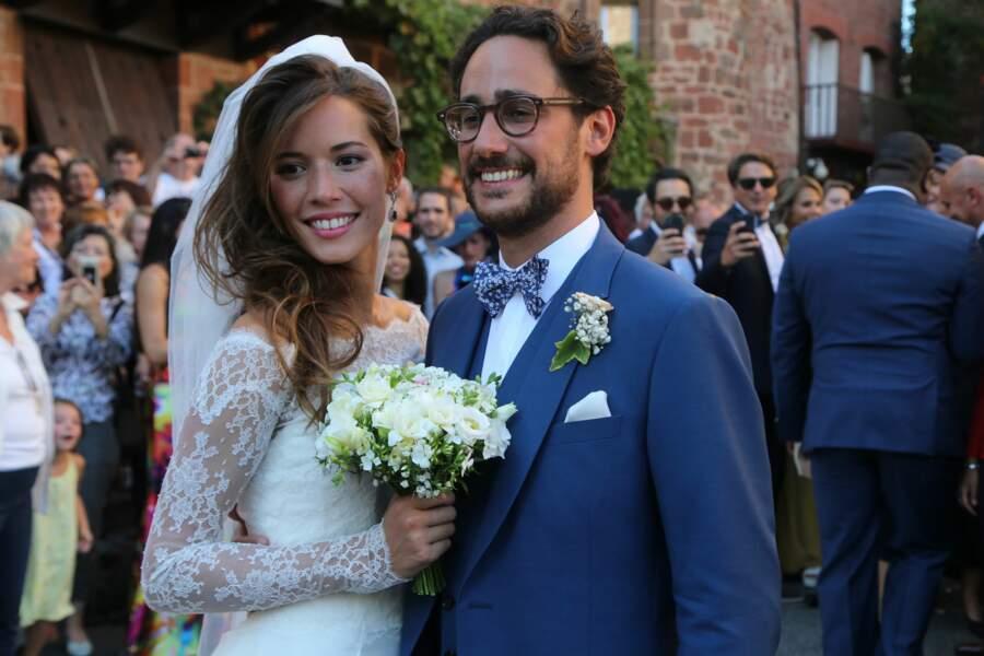 Thomas Hollande et Emilie Broussouloux se sont mariés dans le petit village de Meyssac