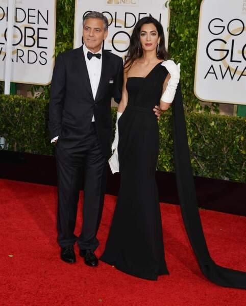 Et le couple star : monsieur et madame Clooney !