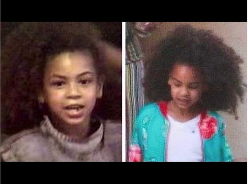 Avez-vous reconnu Beyoncé et sa fille Blue