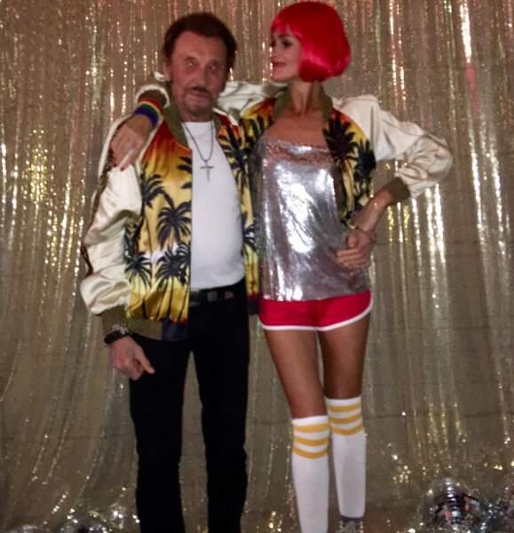 Les Hallyday étaient de soirée disco.
