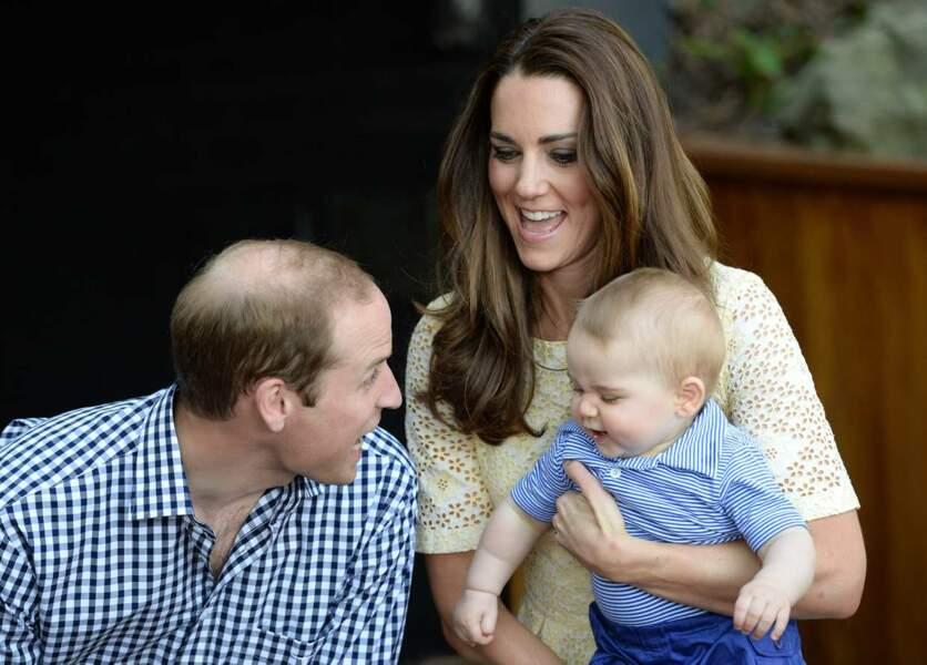 Kate, William et George ou la famille parfaite !