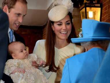 Le baptême du prince George avec le prince William et Kate Middleton