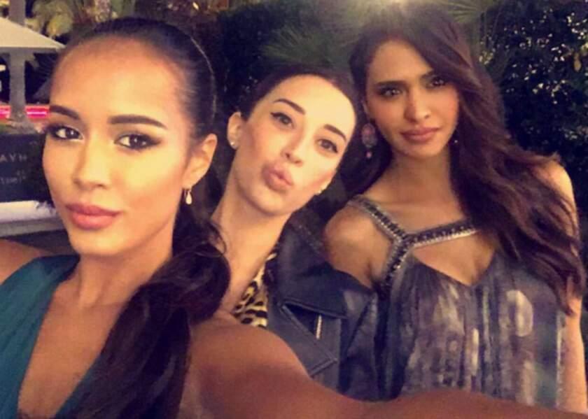 Leila Ben Khalifa s'éclate entre copines