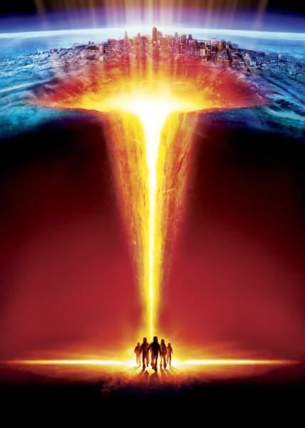 Dans Fusion- The Core (2000), c'est le noyau interne de la Terre qui s'est arrêté de tourner.