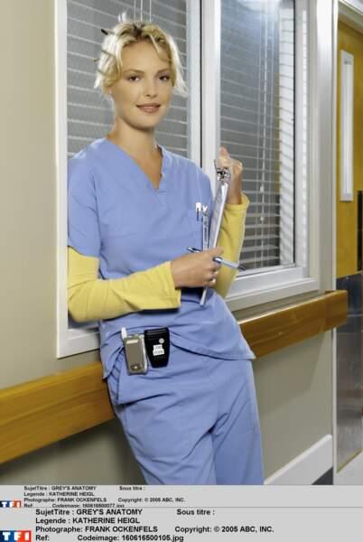 La belle Katherine Heigle incarne la belle et brillante Izzie