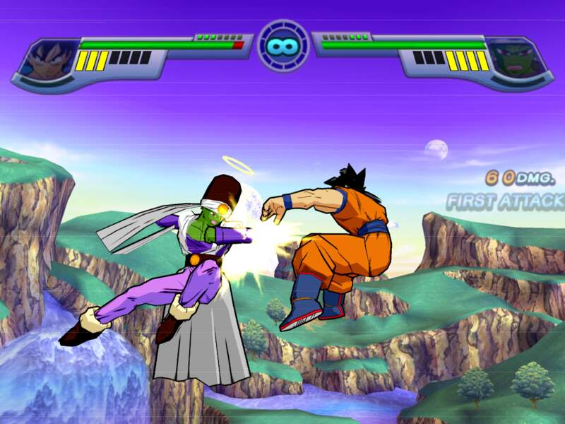 Dragon Ball Z : Infinite World (2008 - PlayStation 2)