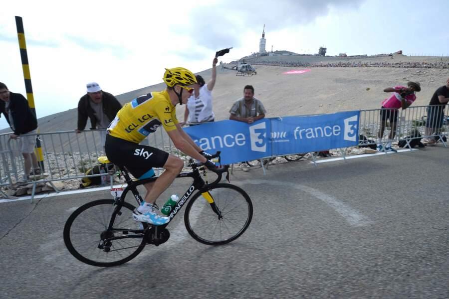 Chris Froome a survolé l'étape du Mont Ventoux