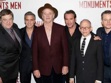 Les Monuments Men, George Clooney, Jean Dujardin et Matt Damon font le show à Paris