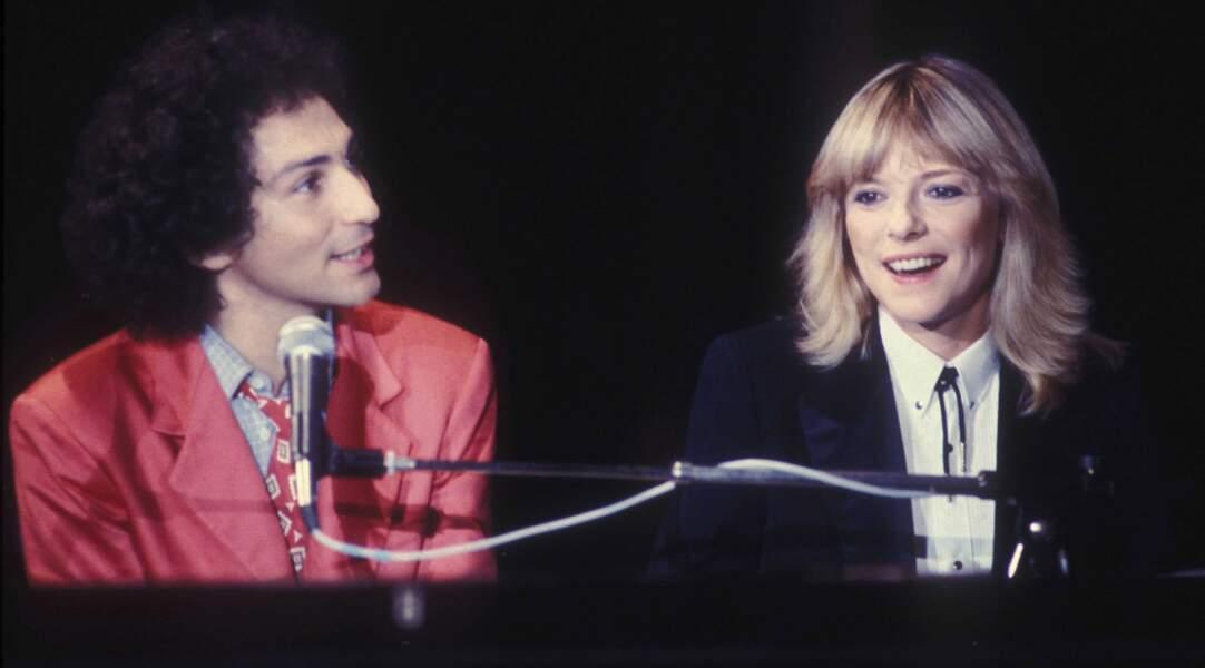 France Gall et Michel Berger, décédé le 2 août 1992.