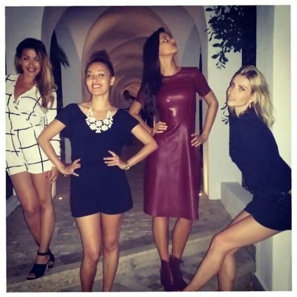 ... Qui a pasé le week-end en Tunisie avec Alexandra Rosenfeld et les soeurs Charni