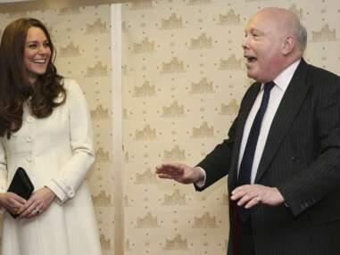 Downton Abbey accueille la duchesse Kate Middleton, enceinte et radieuse