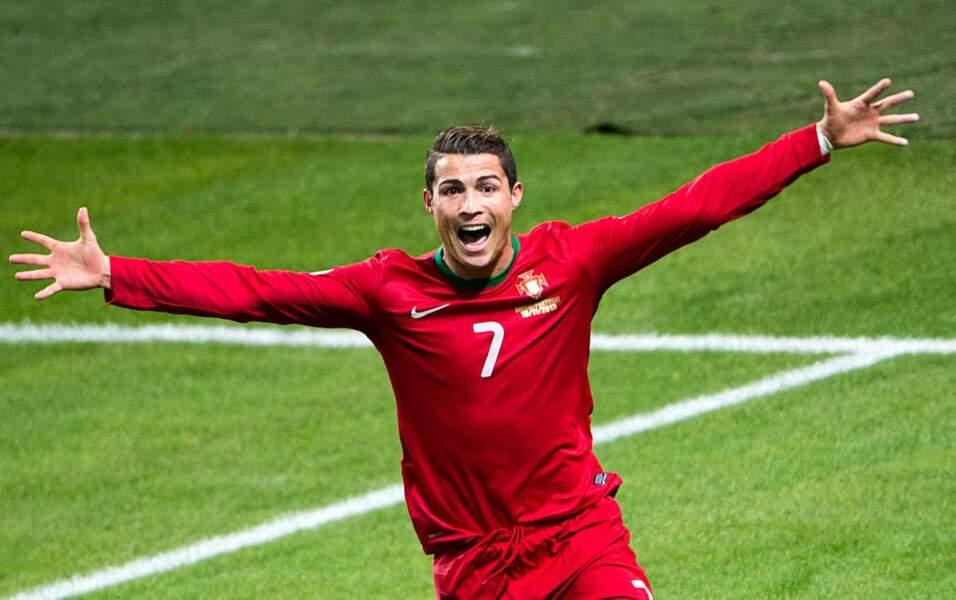Le très médiatique joueur portugais Cristiano Ronaldo, 29 ans