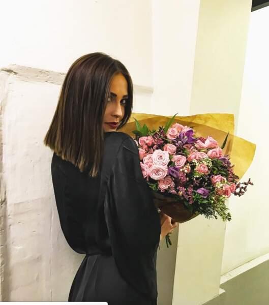 Après les fleurs, remportera-t-elle le trophée DALS ?