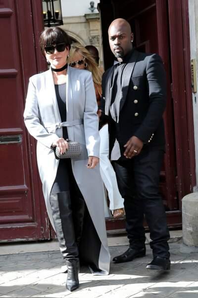 Dans la famille Kardashian, je voudrais la mère : Kris Jenner et son amant Corey Gamble