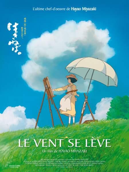 Le vent se lève (2014) : Dernier et ultime film de Miyazaki qui sort ce 22 janvier en France