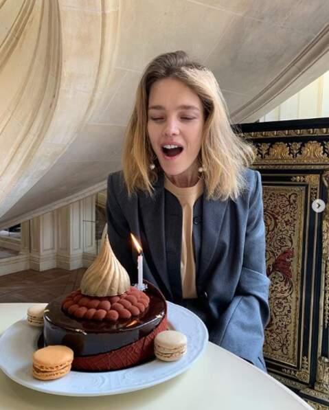 Et on souhaite également un très bon anniversaire à Natalia Vodianova, 37 ans.