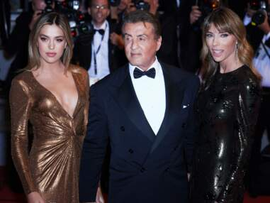 Cannes 2019 : Sylvester Stallone en famille, Meredith Mickelson dans une robe affolante